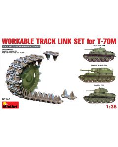 "Miniart ""Workable Track Link Set for T-70M Light Tank"" 35146"