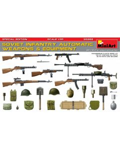 """Miniart """"Sov.Inf.Automatic Weapons&Equipment.Sp.Ed."""" 35268"""