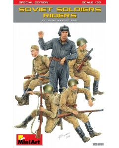 """Miniart """"Soviet Soldiers Riders. Special Edition"""" 35281"""