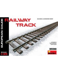 "Miniart ""Railway Track (European Gauge)"" 35561"