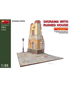 """Miniart """"Diorama with Ruined House"""" 36012"""