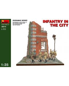 """Miniart """" Infantry in the City"""" 36014"""