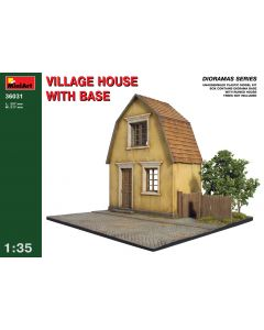 """Miniart """" Village House with Base"""" 36031"""
