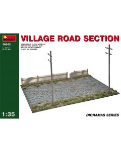 """Miniart """" Village Road Section"""" 36042"""