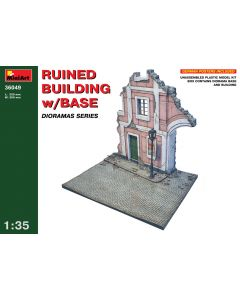 """Miniart """"Ruined Building w/Base"""" 36049"""